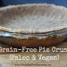 Grain-Free Pie Crust (Paleo &Vegan)