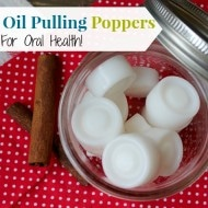 Flavored Oil Pulling Poppers for Oral Health!